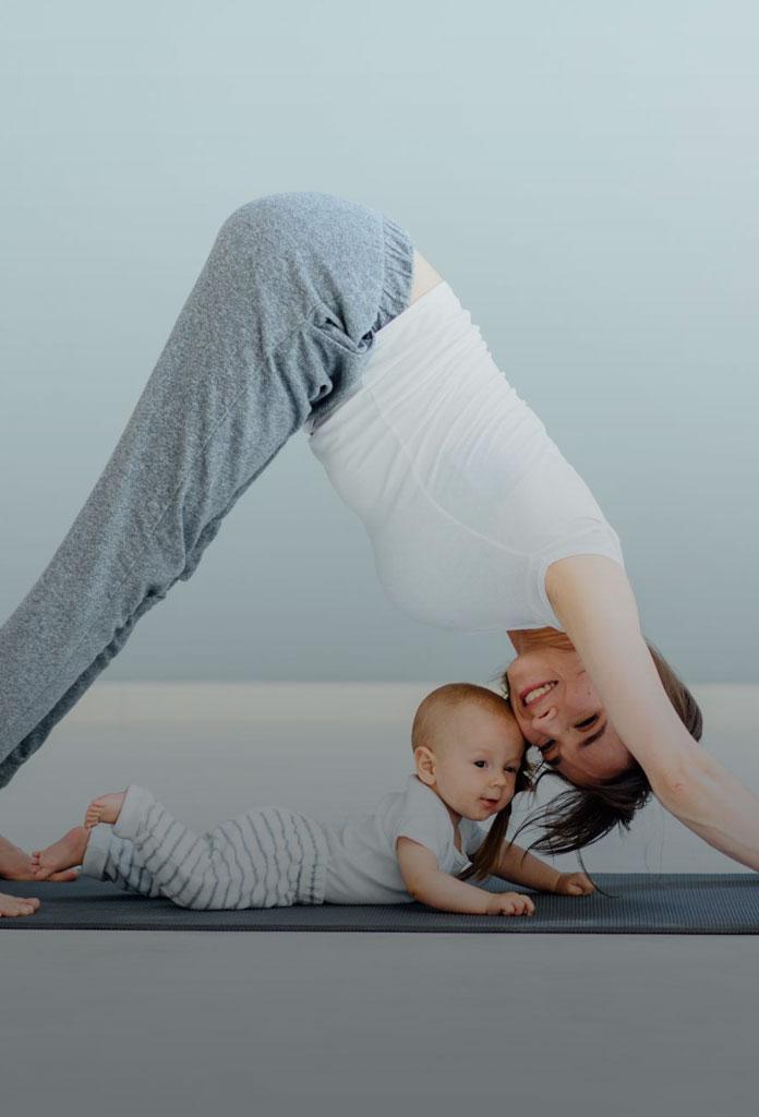 Garder la ligne après l'accouchement